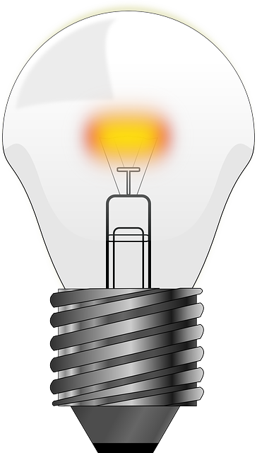 Free Vector Graphic Bulb Light Lamp Electric Free Image On Pixabay 161134