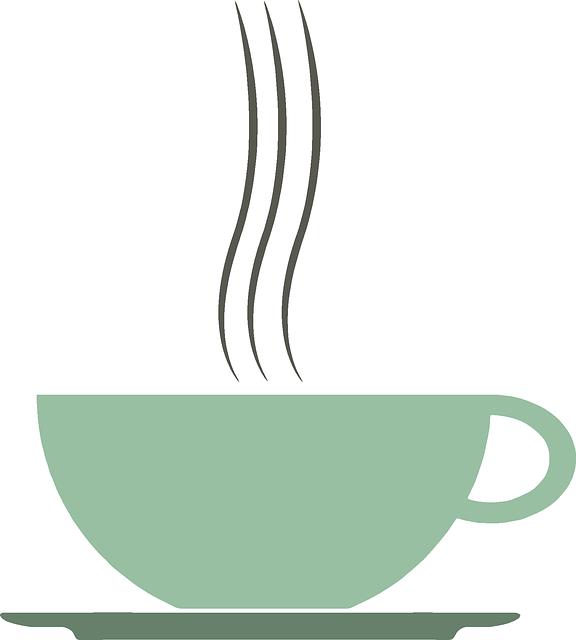 Clip Art Coffee Table: Free Vector Graphic: Café, Coffee, Cup