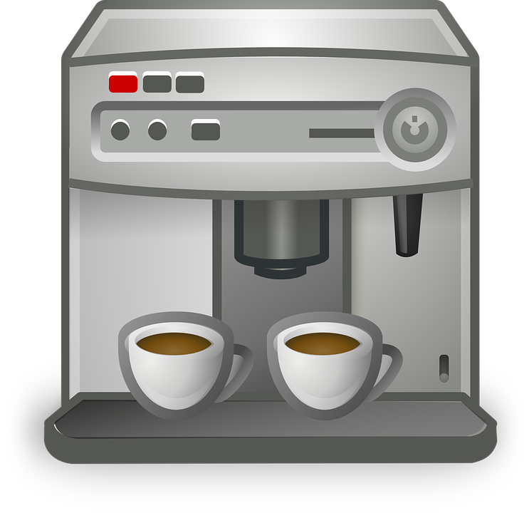 Free vector graphic: Coffee, Coffeemaker, Cup, Machine - Free Image on Pixabay - 161112