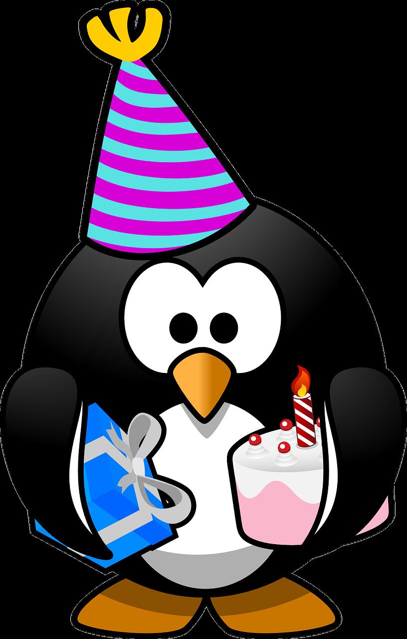 Картинки, смешной рисунок с пингвином