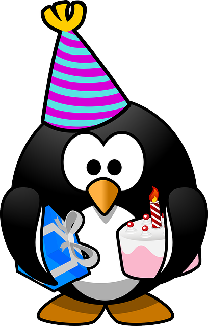Free Vector Graphic Linux Tux Anniversary Bird Free