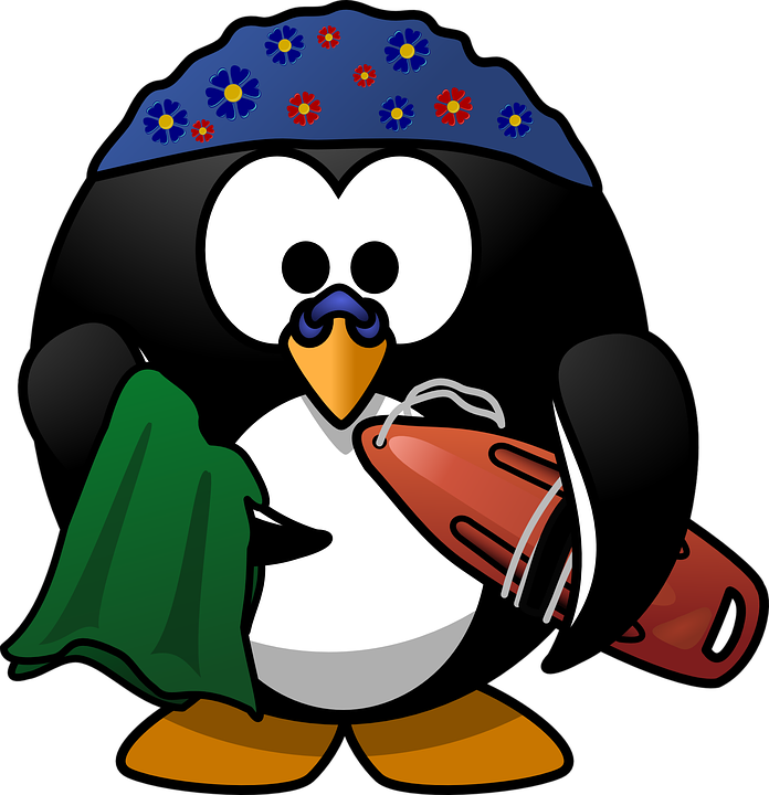 Linux Tux Activity Free Vector Graphic On Pixabay