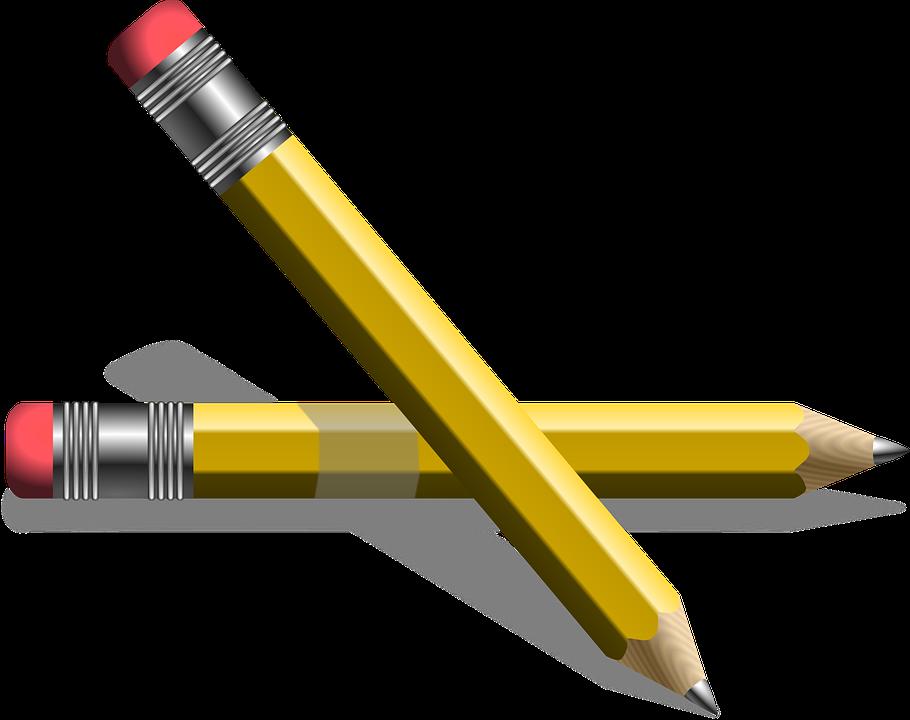 Pensil Pena Menulis Gambar Vektor Gratis Di Pixabay