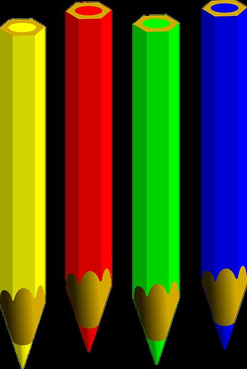 Bút Chì Màu Miễn Phí Vector Hình ảnh Trên Pixabay