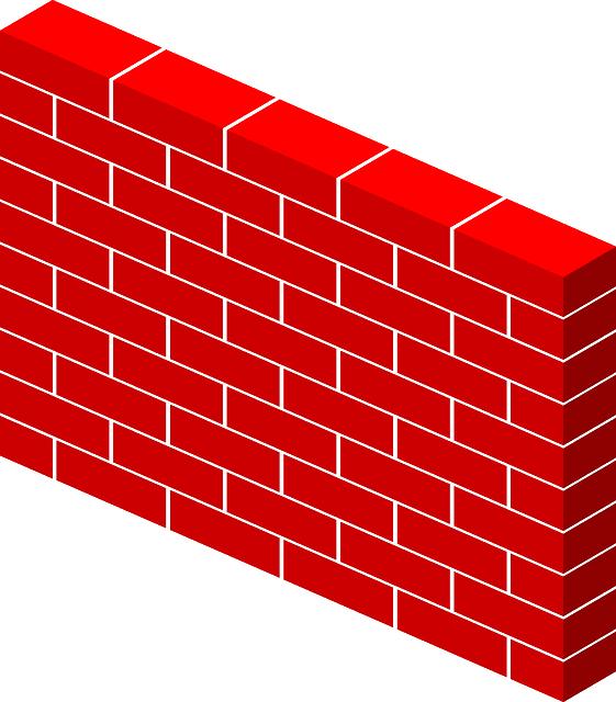 Bricks Wall Free Vector Graphic On Pixabay