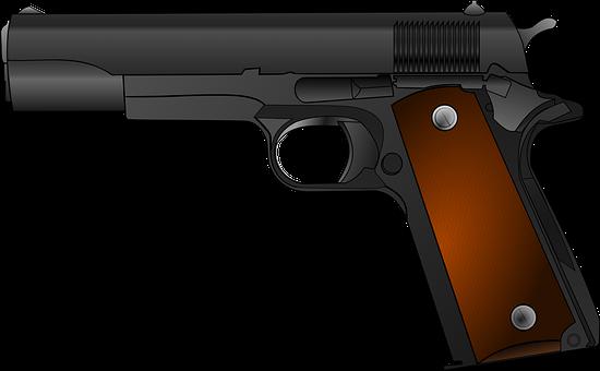 Gun Weapon Pistol Handgun Army Revolver Sh