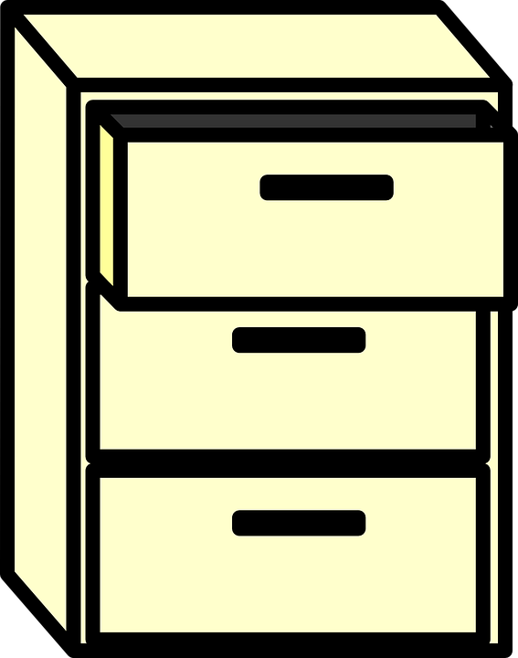 Free Vector Graphic Cabinet Filing File Furniture