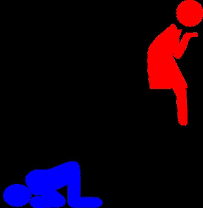 Symbole für mann frau