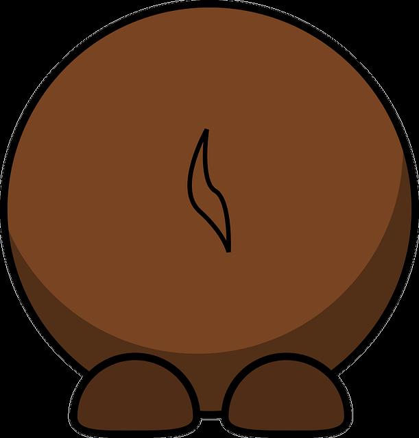 Gnu Back Brown · Free vector graphic on Pixabay