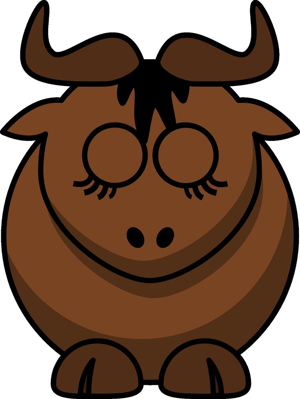 милые быки рисунки