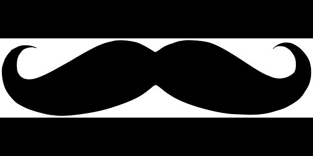 Bigode black crespo gr fico vetorial gr tis no pixabay - Moustache dessin ...