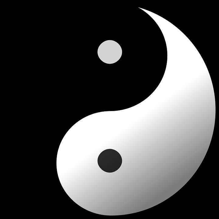 Taijitu Yin Yang Free Vector Graphic On Pixabay