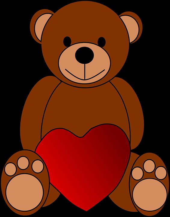 ours coeur lamour peluche jouets saint valentin - Ours Coeur