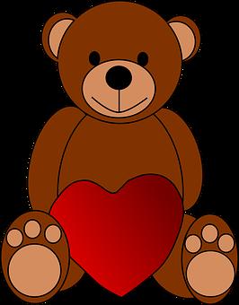 Bear, Heart, Love, Teddy, Toy, Valentine