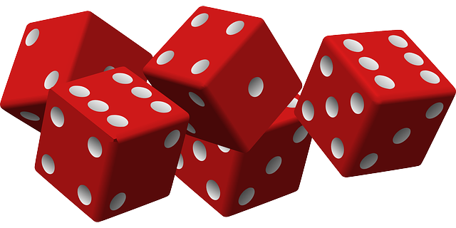 Free Vector Graphic  Dice  Game  Luck  Gambling  Cubes