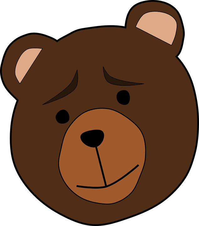 animal bear face free vector graphic on pixabay rh pixabay com cartoon bear face clipart cartoon bear face outline