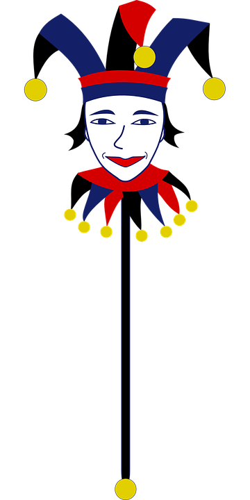 Free Vector Graphic Joker Clown Bauble Bells Fool