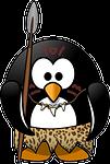 penguin, tux, neanderthal