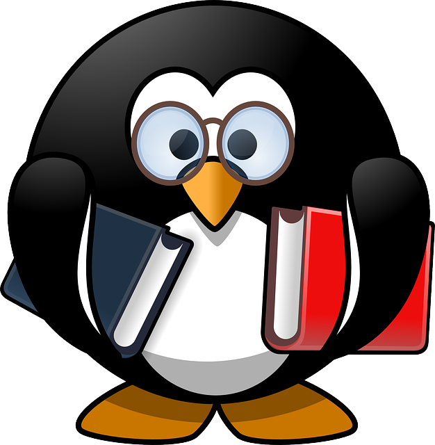 Free vector graphic: Tux, Animal, Bird, Book, Books - Free ...
