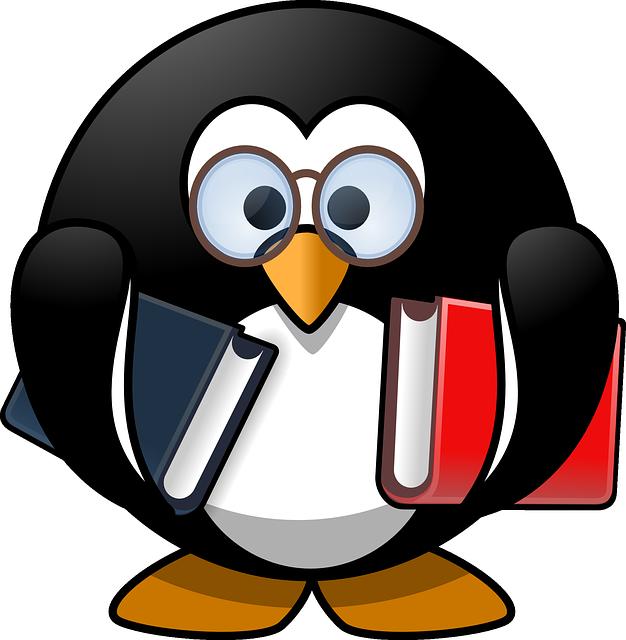 Free vector graphic: Tux, Animal, Bird, Book, Books - Free ...