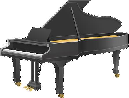 Grand Piano, Piano, Music