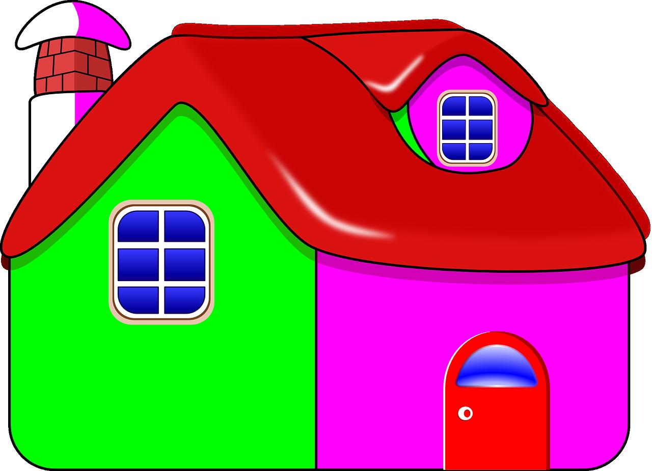 Картинка рисунка домика