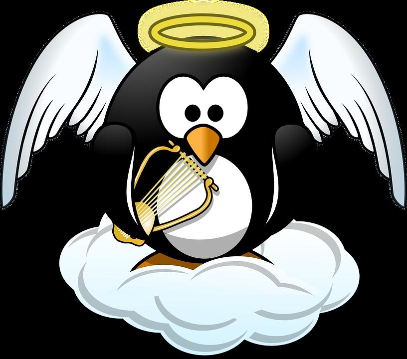 Tux Engel Tier Kostenlose Vektorgrafik Auf Pixabay