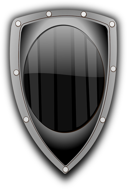 free vector graphic defense middle age shield war