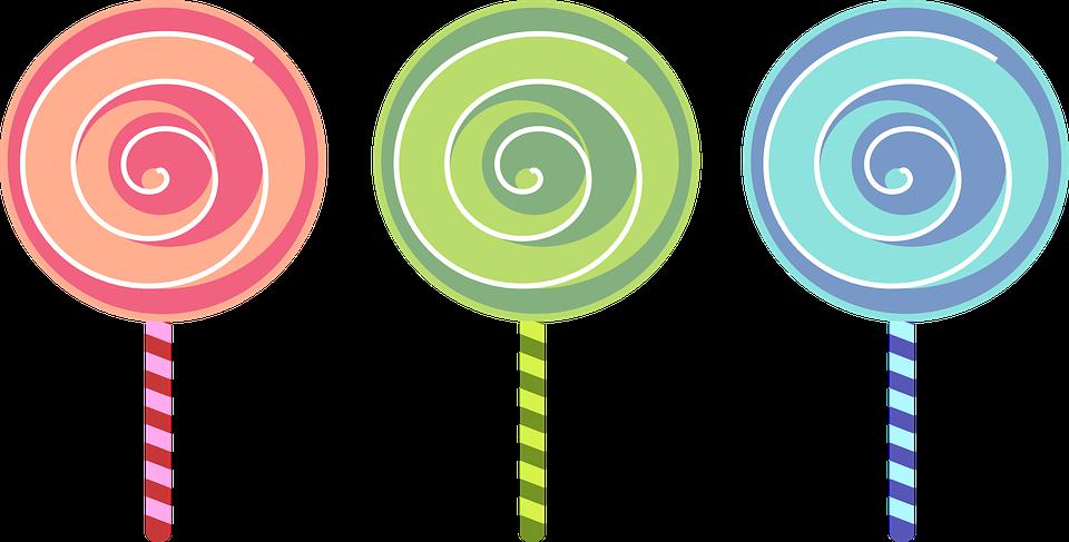 sucette bonbons color sucre - Sucette Colore