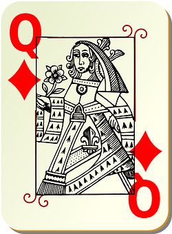 Playing Card, Queen, Card Deck, Deck