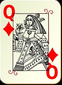 Playing Card, Queen, Card Deck, Deck