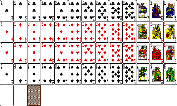300 Free Playing Cards Poker Vectors Pixabay