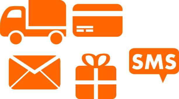 Commerce, Credit, Delivery, Gift, Mail