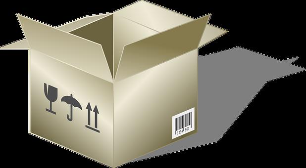 Cardboard Box Cardboard Box Container Open