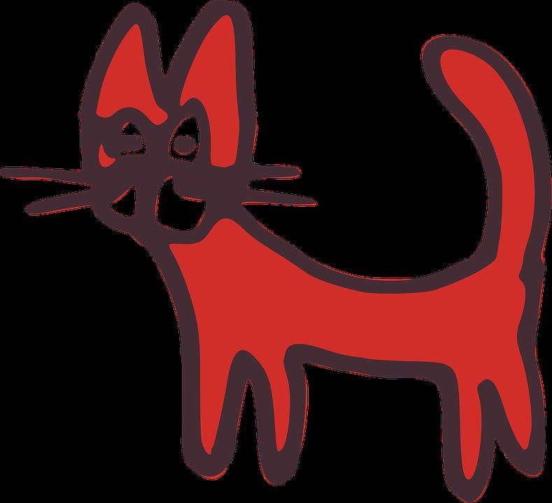 Kucing Hewan Peliharaan Gambar Vektor Gratis Di Pixabay