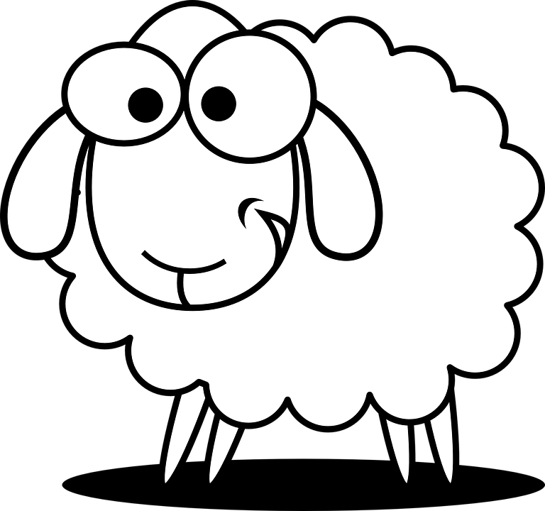 Free vector graphic Sheep Animal