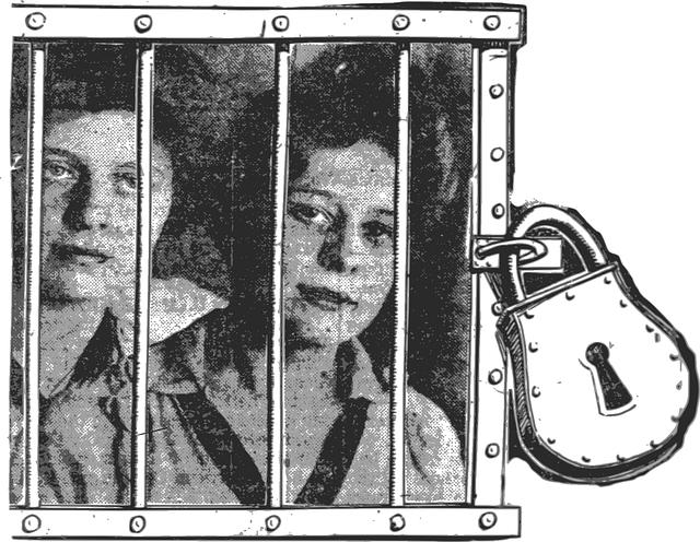 Jail Padlock Girls 183 Free Vector Graphic On Pixabay