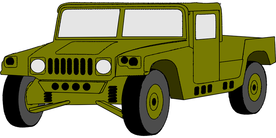 Free vector graphic: Jeep, Car, Hummer, Vehicle, Army ...