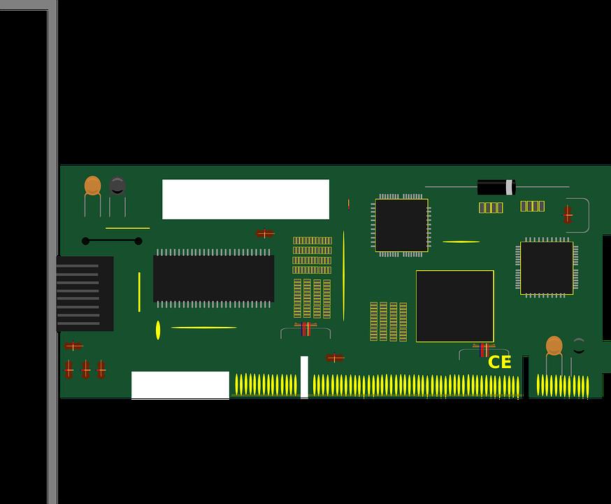 circuit board card blank