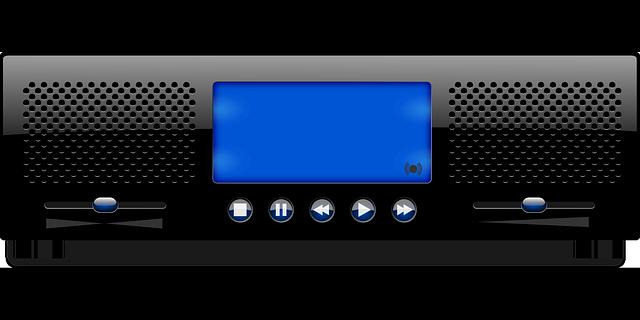 Music Player Radio Audio 183 Free Vector Graphic On Pixabay