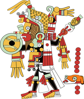 Inca, Maya, Aztecs, Man, Mythical, Myths