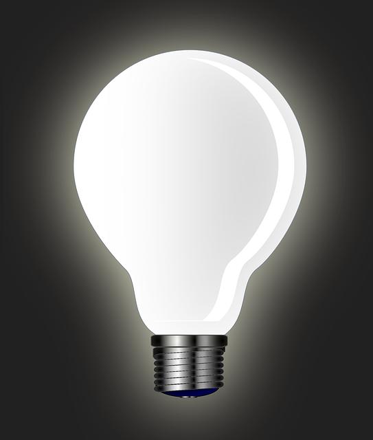 Light Bulb Lamp 183 Free Vector Graphic On Pixabay