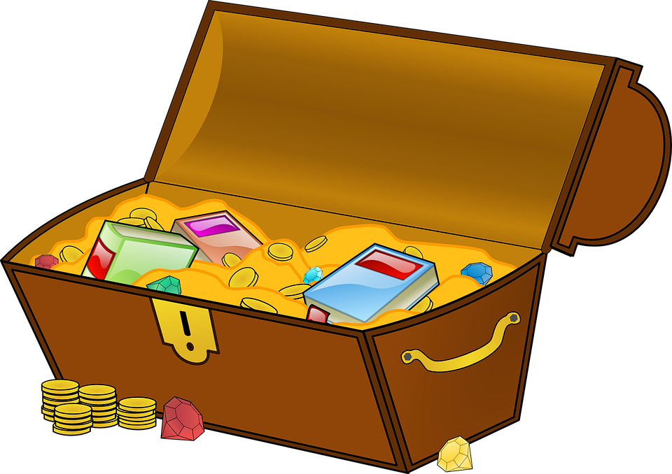 Treasure chest geocaching free vector graphic on pixabay - Bulgomme transparent pour table ...