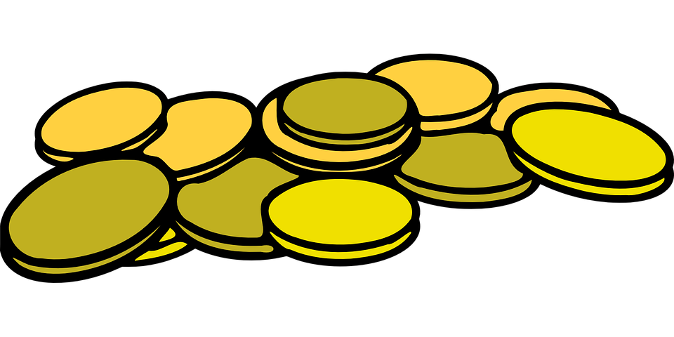 deposit coins money free vector graphic on pixabay