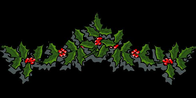 Holly, Ornament, Holiday, X-Mas