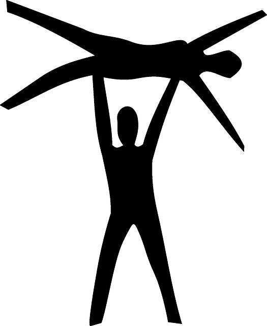 free vector graphic dancing gymnastics dancers acro