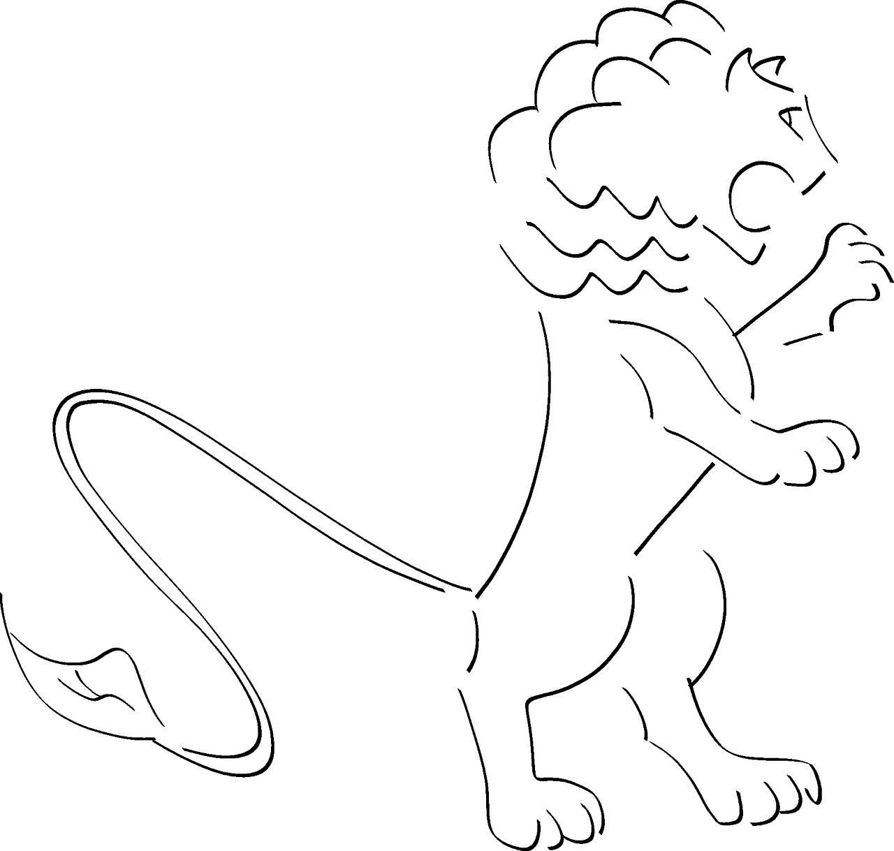 Leao Feroz Roar Grafico Vetorial Gratis No Pixabay