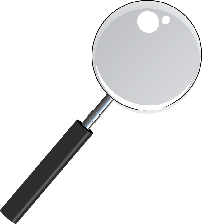 Magnifying Glass See Thru Free Vector Graphic On Pixabay
