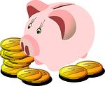 savings box, pig, piggy bank