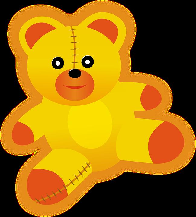 bear children teddy free vector graphic on pixabay